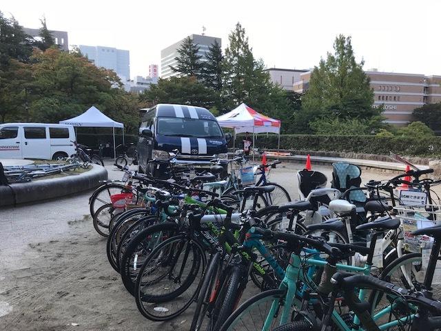 2自転車たち