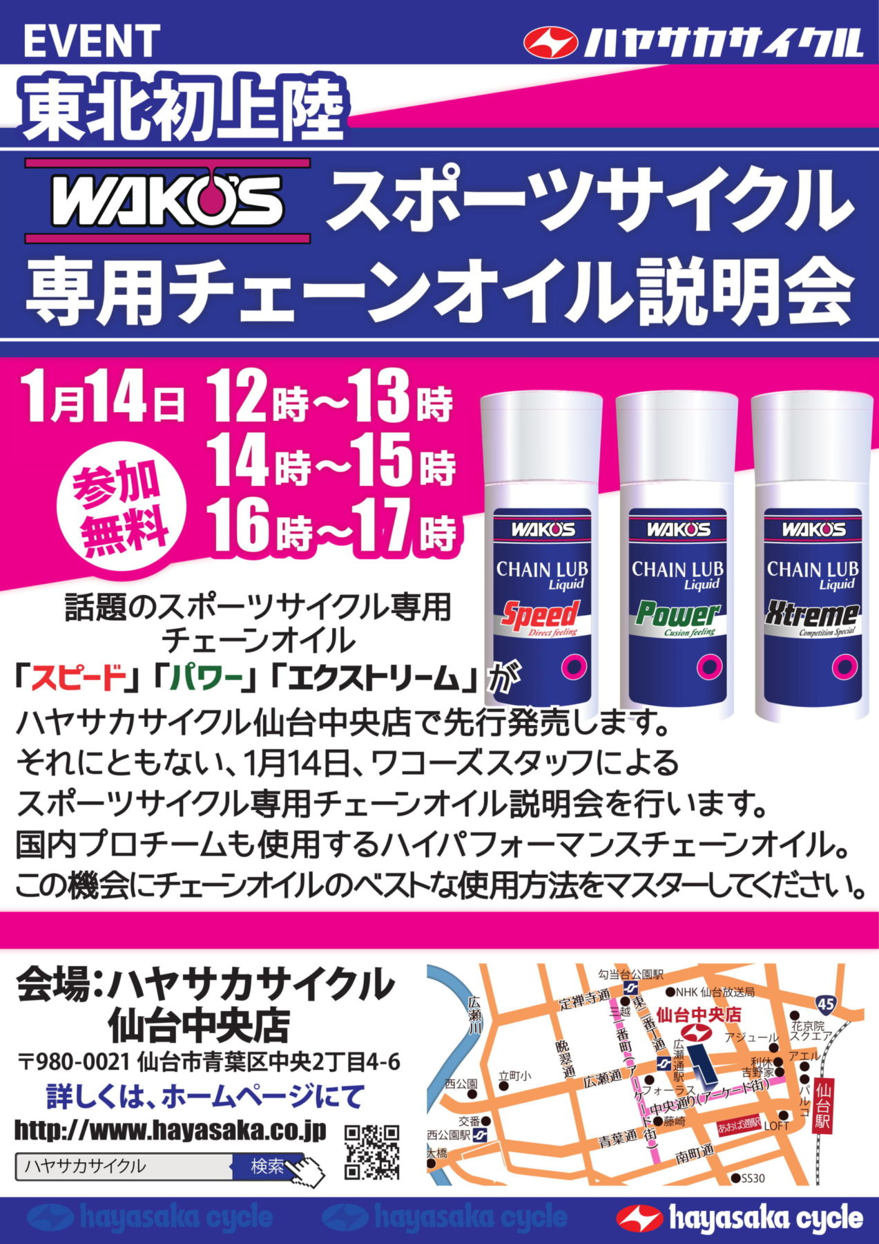 201901中央WAKOSスポーツサイクルチェーンオイル説明会2x1a-1